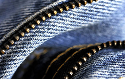Photograph - Jeans Macro by Nancy Greenland