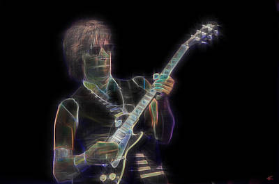 Digital Art - Jeff Beck by Kenneth Armand Johnson