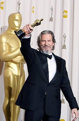 Jeff Bridges, Best Actor For Crazy Art Print by Everett