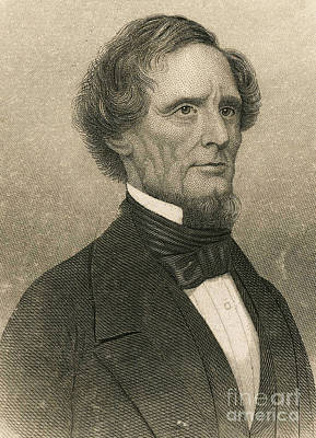 Jefferson Davis, President Art Print