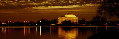 Jefferson Memorial - Panoramic Art Print by David Hahn