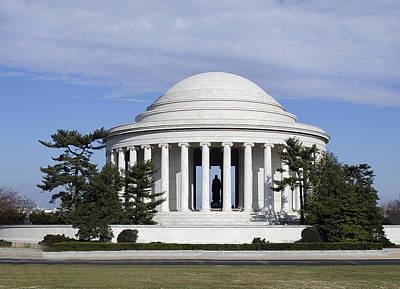 Jefferson Memorial - Washington Dc Art Print by Brendan Reals