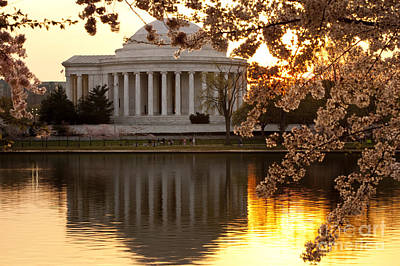 Photograph - Jefferson Memorial At Dawn by Brian Jannsen