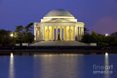 Politicians Royalty-Free and Rights-Managed Images - Jefferson Memorial by Brian Jannsen