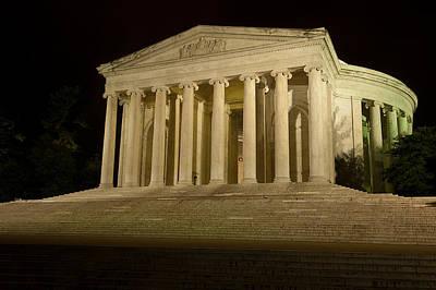 Photograph - Jefferson Memorial by Paul Mangold