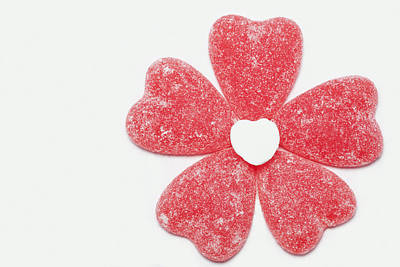 Firefighter Patents Royalty Free Images - Jelly Candy Heart Flower 1 Royalty-Free Image by John Brueske