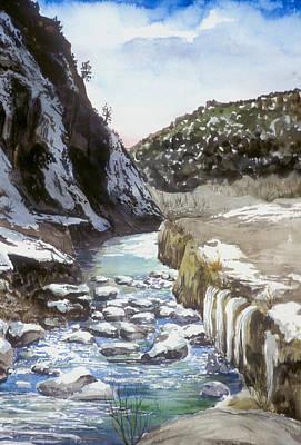 Painting - Jemez Springs Nm by Richard Mordecki