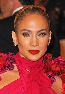 Alexander Mcqueen Savage Beauty Opening Night Gala - Part 2 Photograph - Jennifer Lopez At Arrivals by Everett