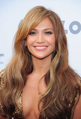 Jennifer Lopez At Arrivals For Apollo Art Print