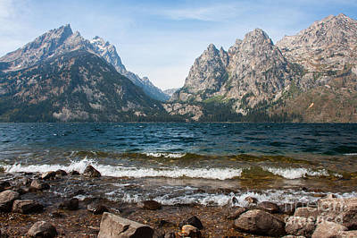 Photograph - Jenny Lake - Late Summer 2012 5 by Katie LaSalle-Lowery