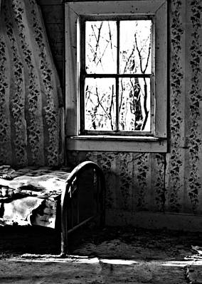 Realism Photograph - Jennys Room by Jerry Cordeiro