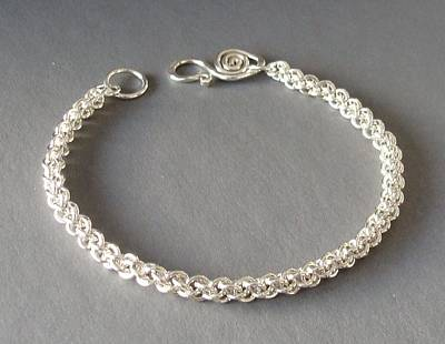 Sterling Silver Bracelet Jewelry - Jens Pind Bracelet by Beverly Fox