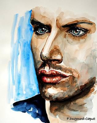 Jensen Ackles Art Print by Francoise Dugourd-Caput