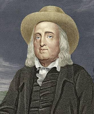 Jeremy Bentham, British Philosopher Art Print