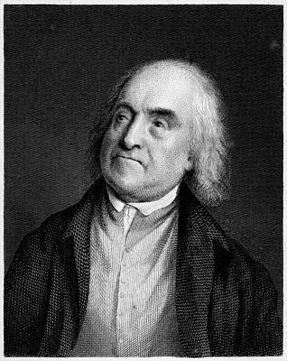 Jeremy Bentham, English Social Reformer Art Print by Middle Temple Library