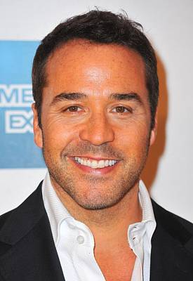 Jeremy Piven At Arrivals For Angels Art Print by Everett