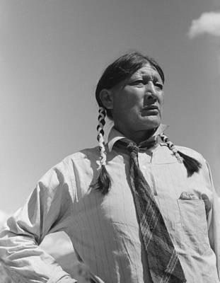 Mirabel Photograph - Jerry Mirabel 1870-1980, Pueblo Indian by Everett