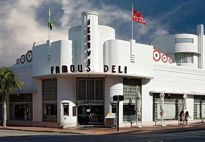 Photograph - Jerry's Famous Deli. Miami. Fl. Usa by Juan Carlos Ferro Duque