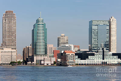 Photograph - Jersey City Skyline I by Clarence Holmes