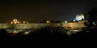 Jerusalem- City On A Hill Art Print