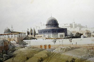Photograph - Jerusalem Close Up by Munir Alawi