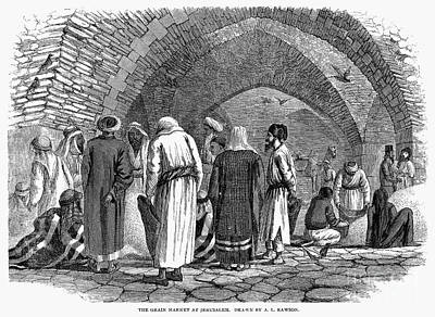 Jerusalem: Grain Market Print by Granger