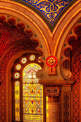 Photograph - Jerusalem Synagogue-prague by John Galbo