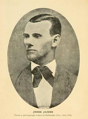 Jesse James 1847-1882 Art Print by Everett