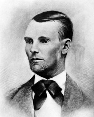 Jesse James, The Western Outlaw Art Print by Everett