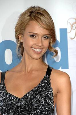 Jessica Alba At Arrivals For Premeire Art Print