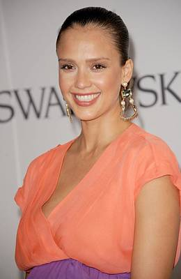 Jessica Alba At Arrivals For The 2011 Art Print