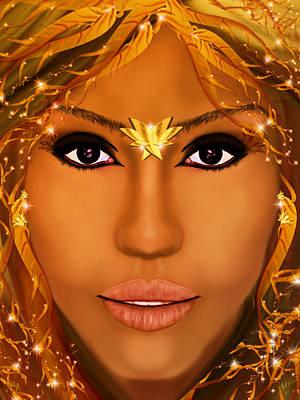 Jessica Alba Digital Art - Jessica Alba Fairy Tale by Mathieu Lalonde