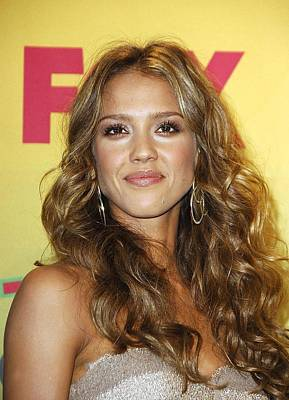 Jessica Alba In The Press Room For Teen Art Print by Everett
