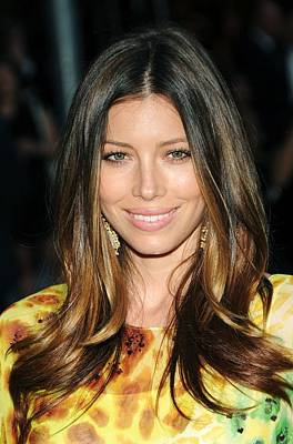 Jessica Biel At Arrivals For The 2010 Art Print by Everett