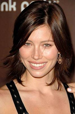 Jessica Biel At Arrivals For The 3rd Art Print by Everett