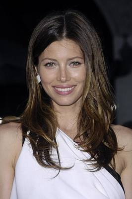 Jessica Biel At Arrivals For The A-team Art Print by Everett