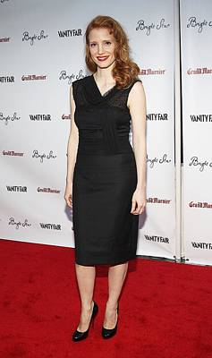 Jessica Chastain At Arrivals For Bright Art Print