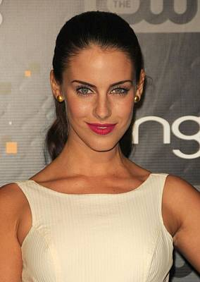 Jessica Lowndes At Arrivals For Bing Art Print