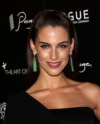 Jessica Lowndes At Arrivals For The Art Art Print