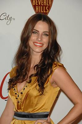Jessica Lowndes Photograph - Jessica Lowndes At Arrivals For The by Everett