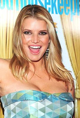 Jessica Simpson At Arrivals For Good Art Print by Everett