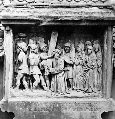 Jesus Christ Relief Photograph - Jesus Christ, One Of The Seven by Everett