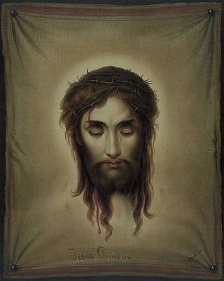 Jesus Christus Art Print by Kurz and Allison