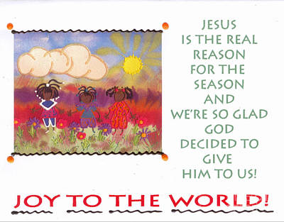 Mixed Media - Jesus Is The Reason by Angela L Walker