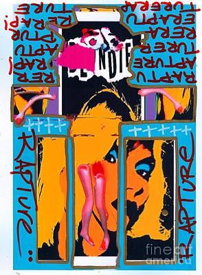 Blondie Digital Art - Jesus Rapture by Ricky Sencion