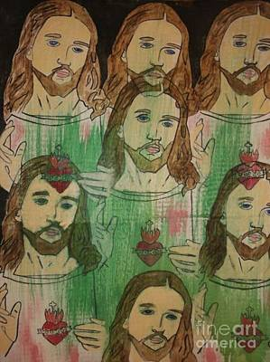 Painting - Jesus by Samantha L