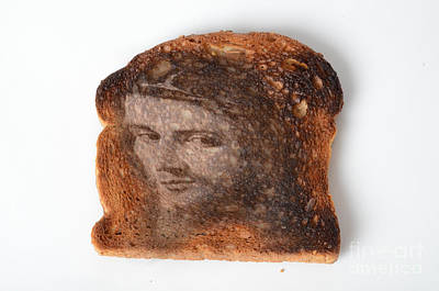Jesus Toast Art Print by Photo Researchers, Inc.