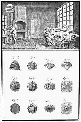 Jewelers Workshop Art Print by Granger