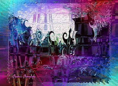 Digital Art - Jewell by Sadie Reneau