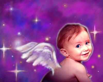 Jewell.angelic 3 Art Print